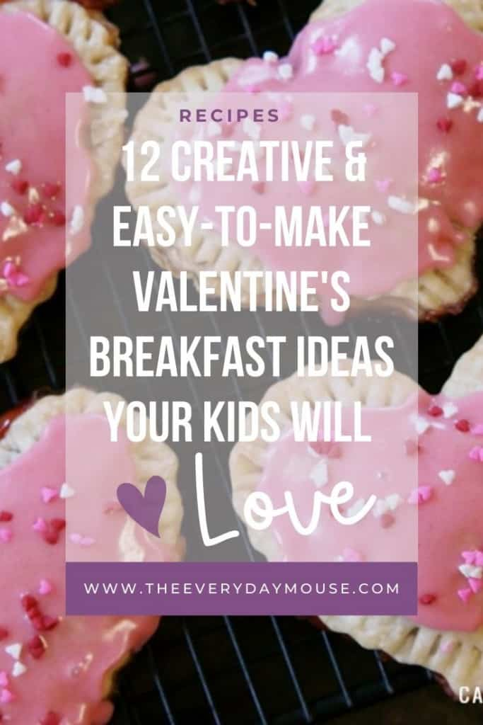 Valentine's Breakfast Ideas