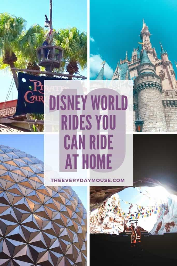 10 Disney World Rides You Can Ride at Home by The Everyday Mouse