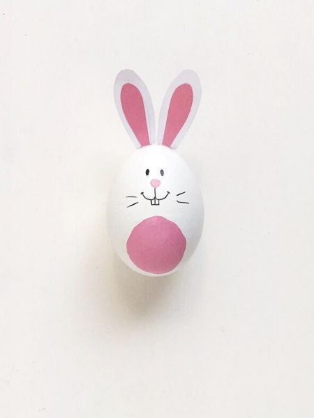 Easter Egg Hunt Bunny Craft by The Everyday Mouse