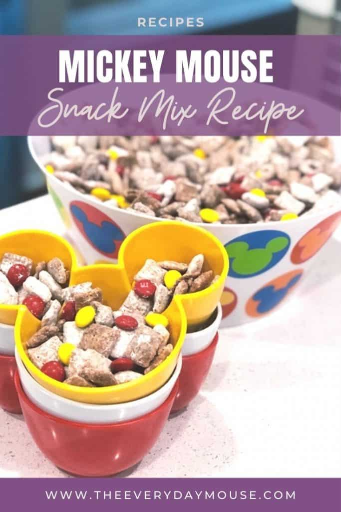 Mickey Snack Mix by The Everyday Mouse