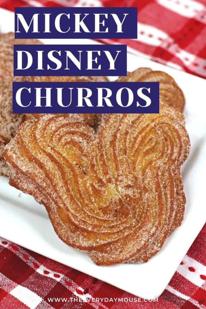 Mickey Disney Churro
