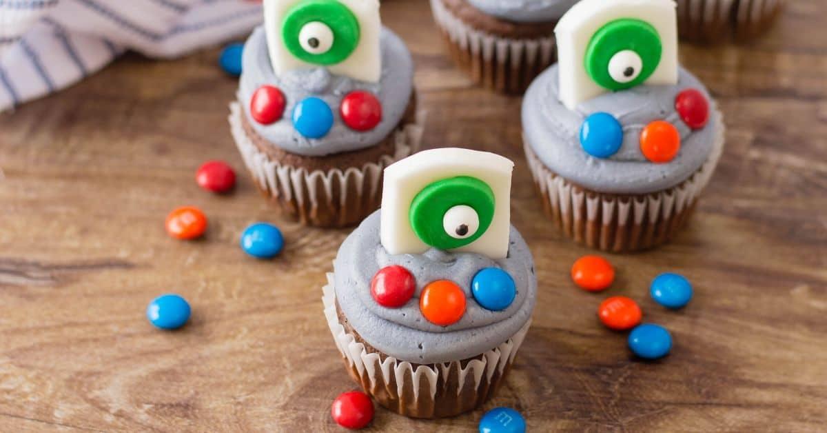Monster Inc Cupcakes Recipe