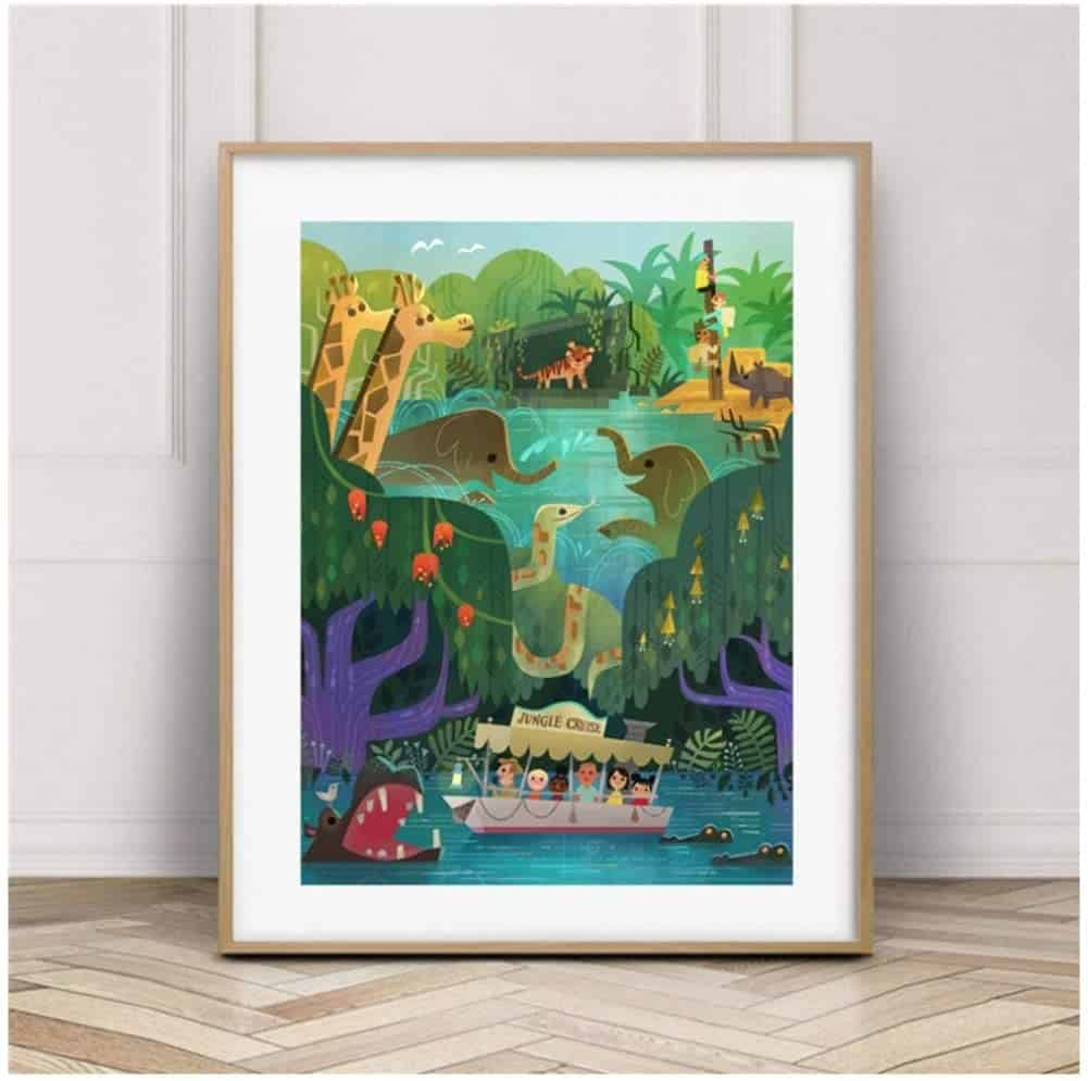 Disney Jungle Cruise Poster