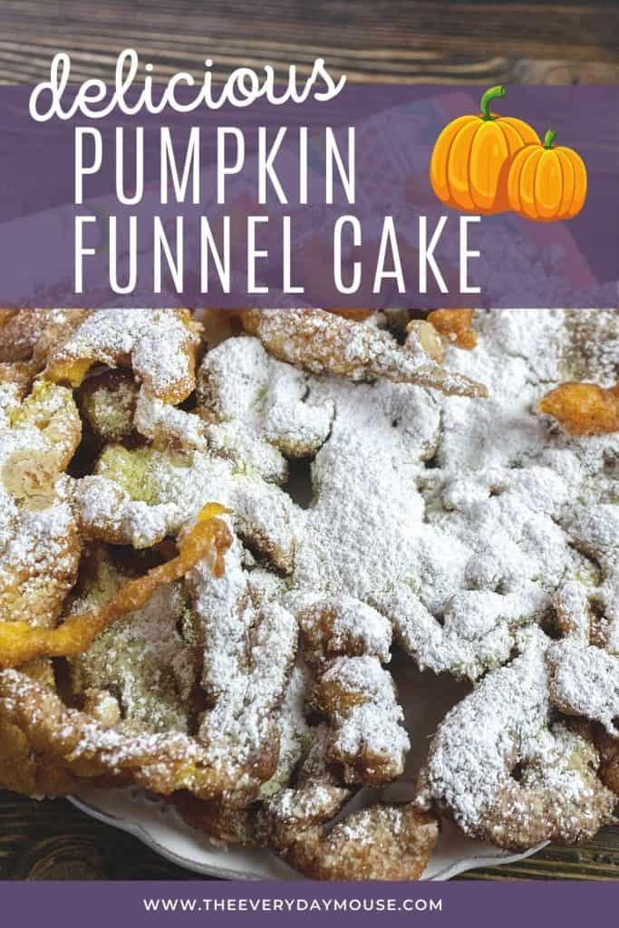 Pumpkin Funnel Cake Recipe