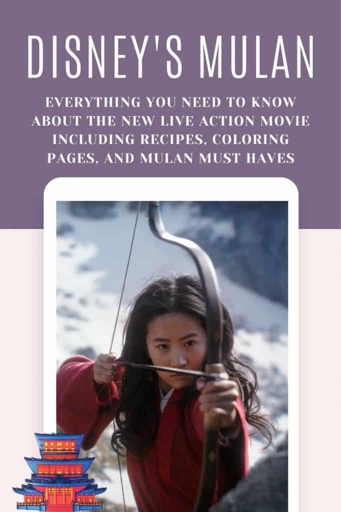 Disney's Mulan Live Action Movie