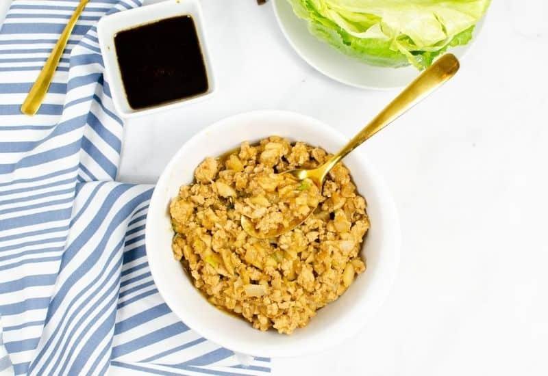 Instant Pot Lettuce Wraps PF Changs Copycat Recipe