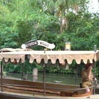 Jungle Cruise River Boat Craft